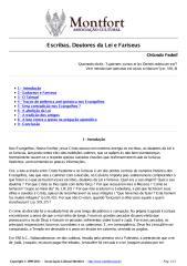 Escribas, Doutores da Lei e Fariseus - Orlando Fedeli.pdf