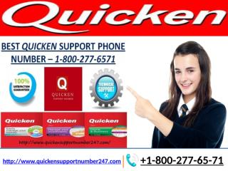 1Rules About Quicken Support Number Meant To Be Broken +1-800-277-65-71.pptx