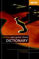 Berklee Jazz Guitar Chord Dictionary.pdf