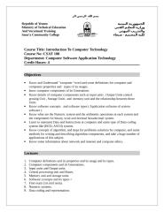 Intro to Computer Technology.doc