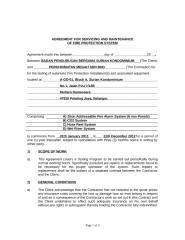 AGREEMENT  ( Surian Kondominium )2011-A.doc