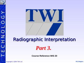 twi radiographic interpretation.(part3).ppt