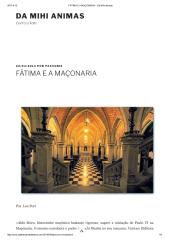 Fátima e a Maçonaria - Da Mihi Animas.pdf