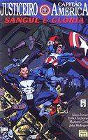 Justiceiro & Capitão América - Sangue e Glória # 01.cbr