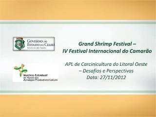 APL de Carcinicultura do Litoral Oeste - Desafios e Perspectivas - Governo do CE.pdf